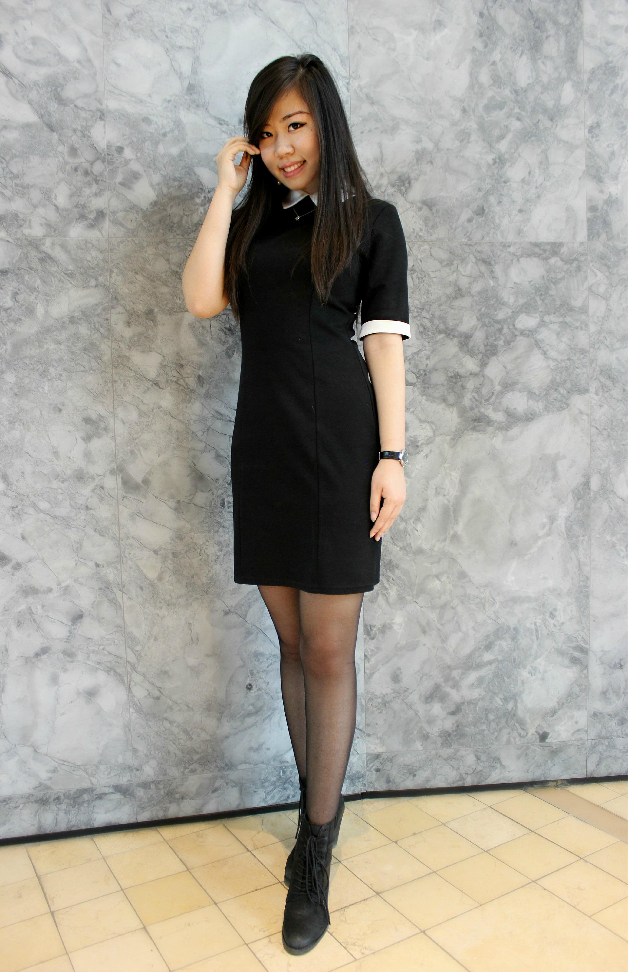 Short Black Dress Boots